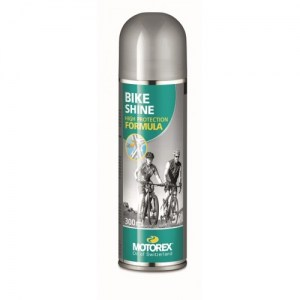 ΓΥΑΛΙΣΤΙΚΟ Motorex Bike Shine σκελετού Spray 500ml DRIMALASBIKES