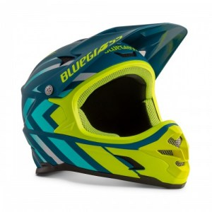 ΚΡΑΝΟΣ Bluegrass Intox Avio Blue Shaded Fluo Yellow/Matt DRIMALASBIKES