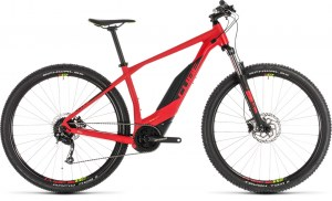 ΠΟΔΗΛΑΤΟ CUBE ACID HYBRID ONE 500 RED N GREEN 2019 DRIMALASBIKES