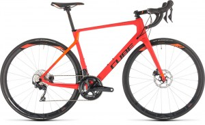 ΠΟΔΗΛΑΤΟ CUBE AGREE C:62 RACE DISC RED N ORANGE 28 2019 DRIMALASBIKES