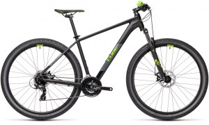 ΠΟΔΗΛΑΤΟ CUBE AIM BLACK N GREEN 2021 DRIMALASBIKES
