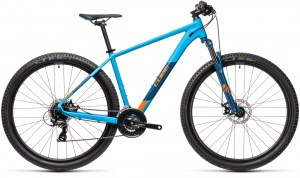 ΠΟΔΗΛΑΤΟ CUBE AIM BLUE N ORANGE 2021 DRIMALASBIKES