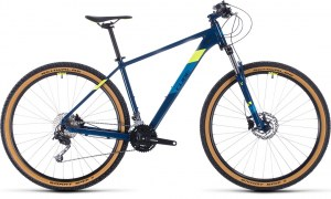 ΠΟΔΗΛΑΤΟ CUBE AIM SL BLUEBERRY N' FLASHYELLOW 27 2020 DRIMALASBIKES