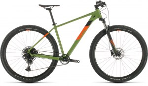 ΠΟΔΗΛΑΤΟ CUBE ANALOG GREEN N ORANGE 27 2020 DRIMALASBIKES