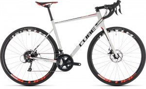 ΠΟΔΗΛΑΤΟ CUBE ATTAIN PRO DISC WHITE N RED 28 2019 DRIMALASBIKES
