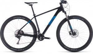 ΠΟΔΗΛΑΤΟ CUBE ATTENTION SL BLACK N BLUE 27 2020 DRIMALASBIKES