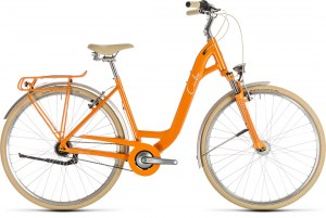 ΠΟΔΗΛΑΤΟ CUBE ELLA CRUISE ORANGE N CREAM 28 2019 DRIMALASBIKES