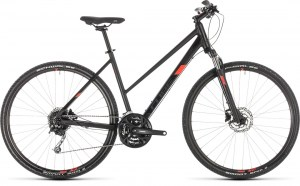 ΠΟΔΗΛΑΤΟ CUBE NATURE PRO LADY BLACK N RED 28 2019 DRIMALASBIKES