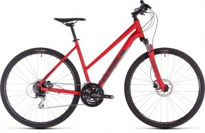 ΠΟΔΗΛΑΤΟ CUBE NATURE RED N GREY LADY 28 2019 DRIMALASBIKES