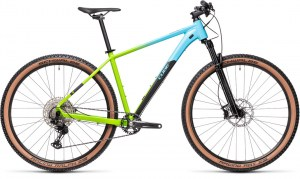 ΠΟΔΗΛΑΤΟ CUBE REACTION PRO FADINGBLUE N GREEN 2021 DRIMALASBIKES