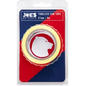 ΤΑΙΝΙΑ Joe's Tubeless Yellow Rim Tape 9m x 21 mm DRIMALASBIKES