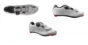 ΠΑΠΟΥΤΣΙΑ Fizik R5B Uomo White - Light Grey DRIMALASBIKES