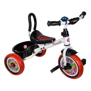 ΤΡΙΚΥΚΛΟ Family Trike F-161 White/Red DRIMALASBIKES