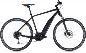 ΠΟΔΗΛΑΤΟ Cube Cross Hybrid One 400 Black n' Blue 28 2018 DRIMALASBIKES