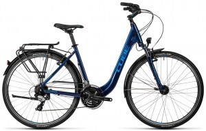 ΠΟΔΗΛΑΤΟ CUBE TOURING MIDNIGHT N BLUE N METALLIC 2016 DRIMALASBIKES