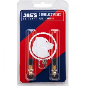 Joe's Tubeless AUTO/SCHRADER Valves (Βαλβίδες) DRIMALASBIKES