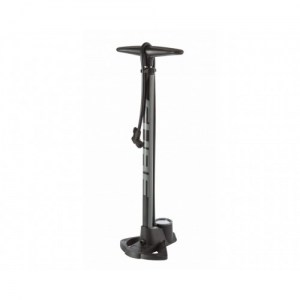 ΤΡΟΜΠΑ CUBE FLOOR PUMP HIGH-PRESSURE STEEL DRIMALASBIKES