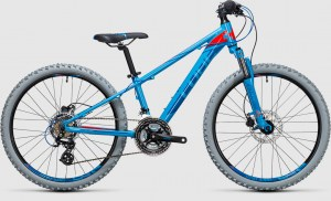 ΠΟΔΗΛΑΤΟ Cube Kid 240 Disc blue´n´flashred 2018 DRIMALASBIKES