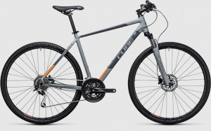 ΠΟΔΗΛΑΤΟ Cube Nature grey´n´flashorange 2017 DRIMALASBIKES