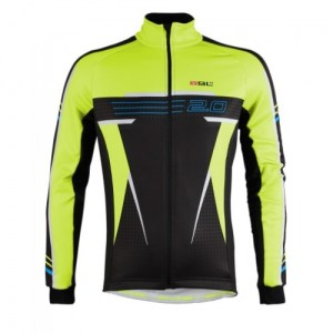 JACKET Bicycle Line Χειμερινό 2.0 Yellow Fluo DRIMALASBIKES